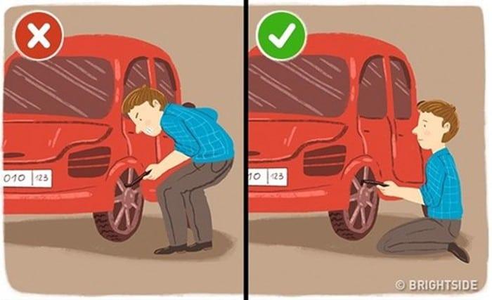 thay lốp xe